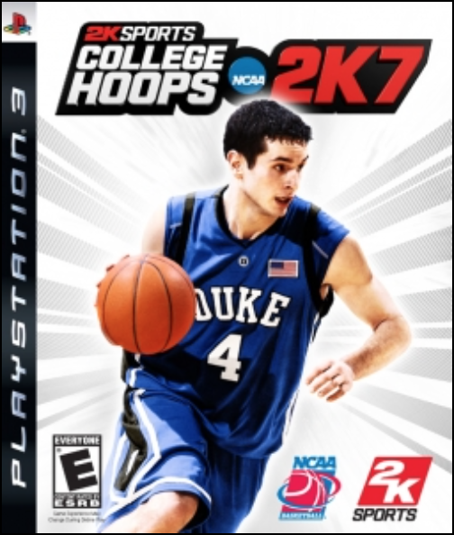 Boxart van College Hoops 2K7 (PS3), 2K Sports