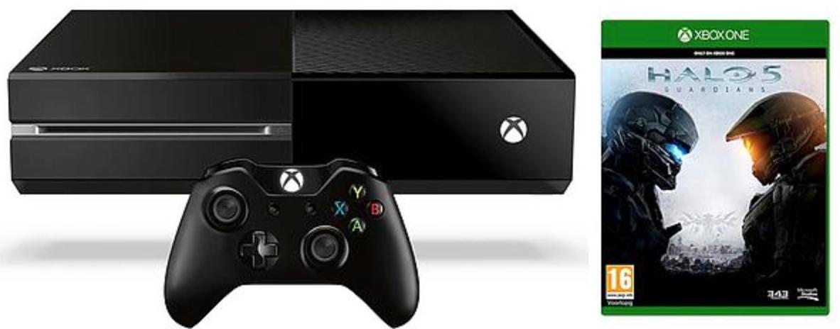 Boxart van Xbox One Console (500 GB) + Halo 5: Guardians (Xbox One), Microsoft