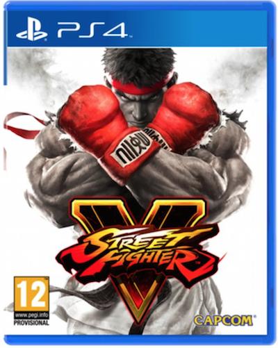 Boxart van Street Fighter V (PS4), Capcom
