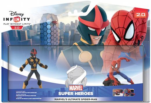 Boxart van Disney Infinity 2.0 Spiderman Speelset (Nova & Spider-Man) (NFC), Disney Interactive