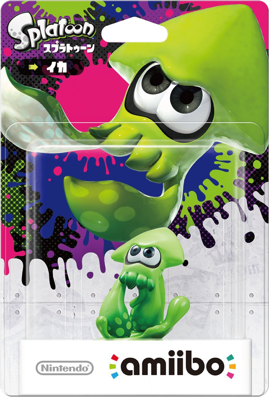 Splatoon Amiibo Figuur Splatoon Inkling Squid (groen)