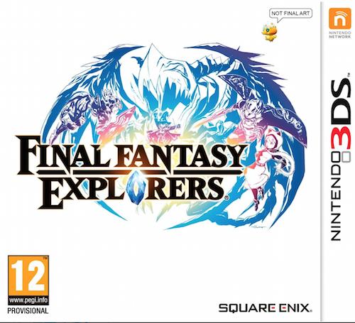 Boxart van Final Fantasy: Explorers (3DS), Square Enix