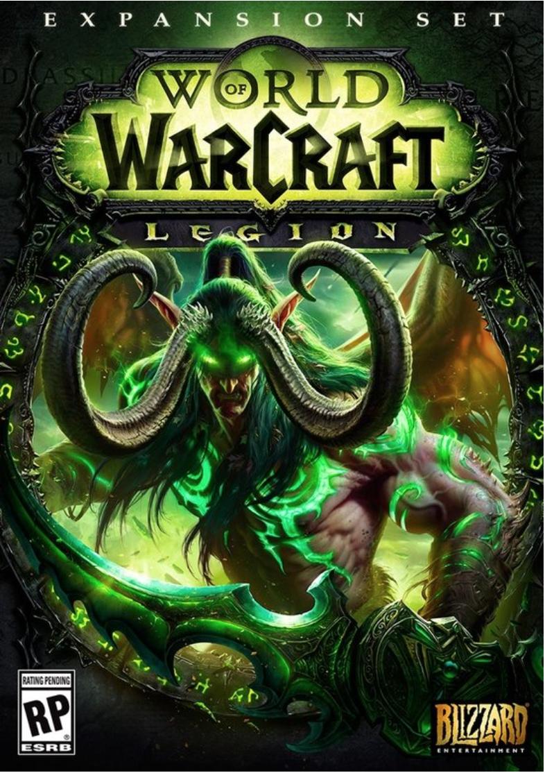 Boxart van World of Warcraft: Legion (PC), Blizzard Entertainment