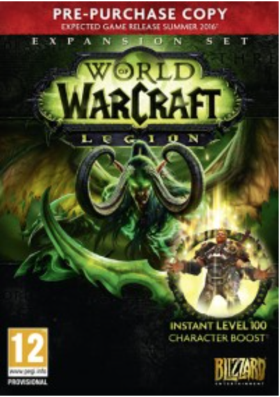 Boxart van World of Warcraft: Legion Pre-purchase Edition (PC), Blizzard Entertainment