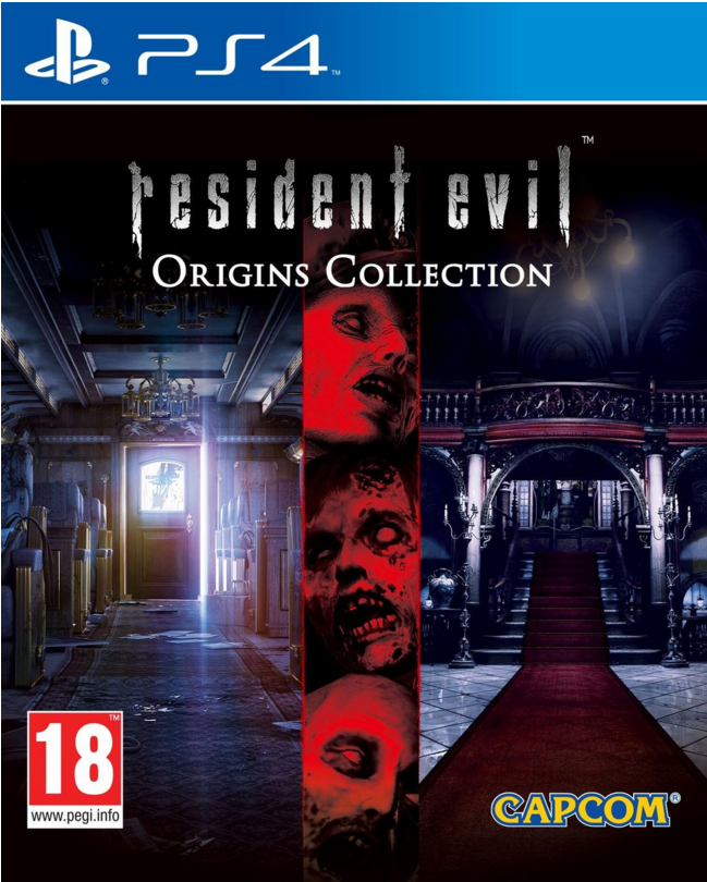 Boxart van Resident Evil Origins Collection (PS4), Capcom