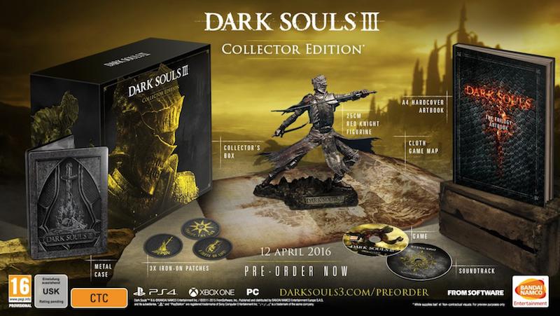 Boxart van Dark Souls III Collectors Edition (Xbox One), From Software