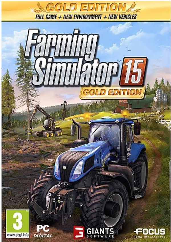 Farming Simulator 15 Gold Edition (PC), Giants Software