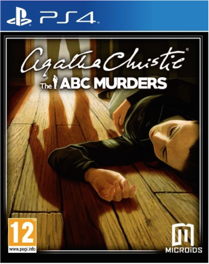 Boxart van Agatha Christie: The ABC Murders (PS4), Microids