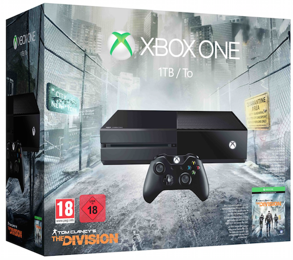 Boxart van Xbox One Console (1 TB) + The Division (Xbox One), Microsoft