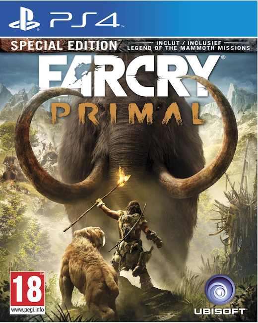 Boxart van Far Cry: Primal Special Edition (PS4), Ubisoft Montreal