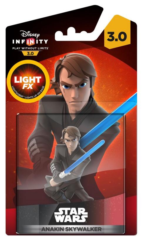 Boxart van Disney Infinity 3.0 Star Wars Anakin Skywalker Light FX (NFC), Disney Interactive