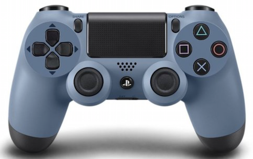 Boxart van Sony Wireless Dualshock PlayStation 4 Controller (Uncharted 4 grijs/blauw) (PS4), Sony Entertainment