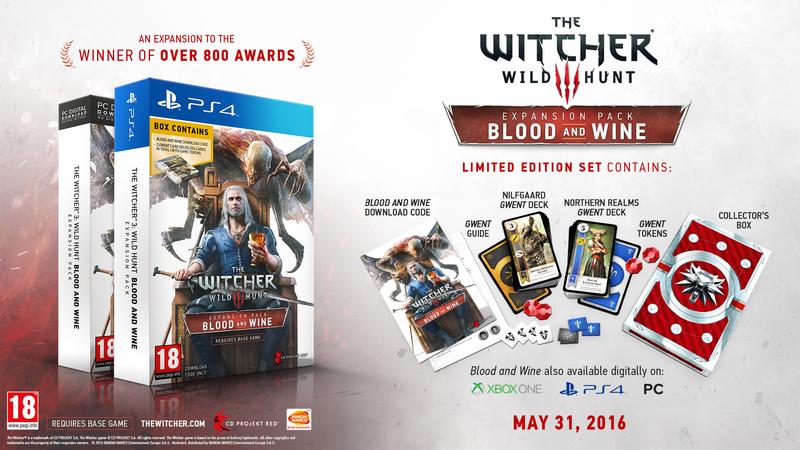 Boxart van The Witcher 3: Wild Hunt: Blood and Wine DLC (PS4), CD Projekt Red