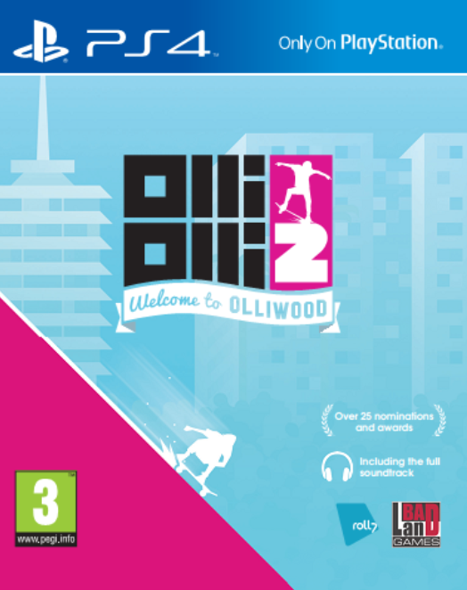 Olli Olli 2: Welcome to Olliwood (PS4), Roll7