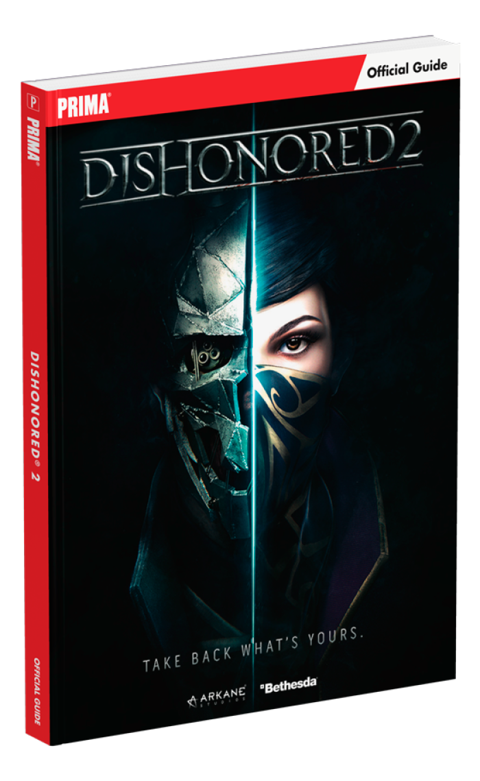 Boxart van Dishonored 2 Strategy Guide (Guide), Prima Games