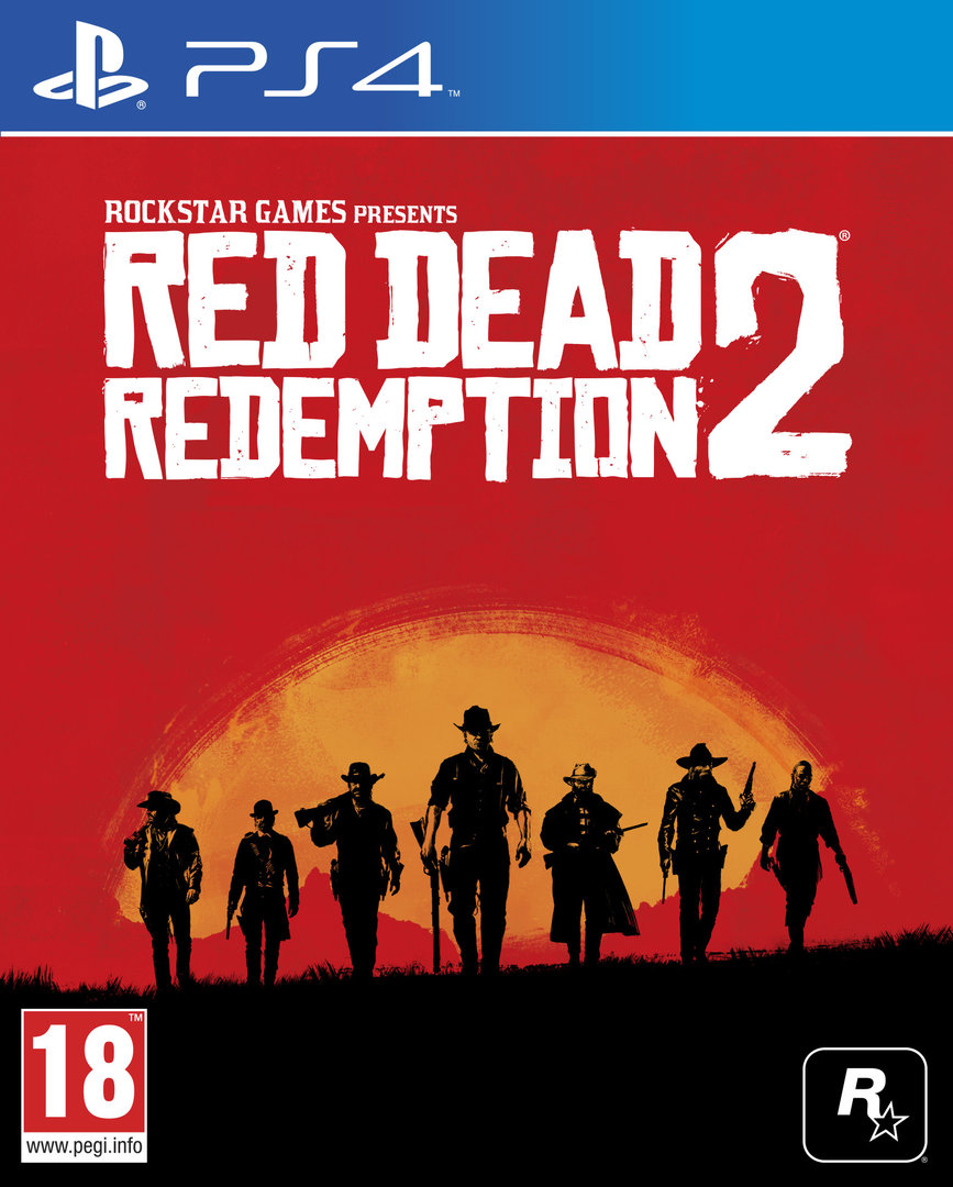 Boxart van Red Dead Redemption 2 (PS4), Rockstar Games