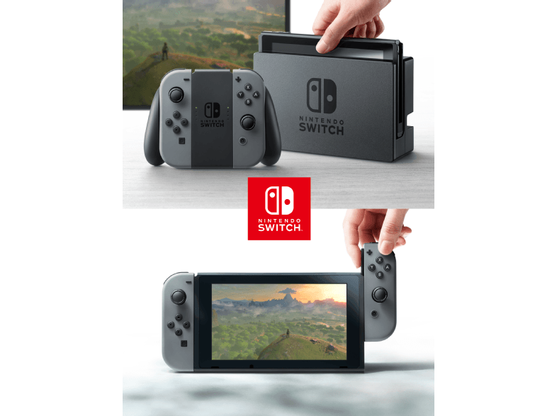 Nintendo Switch Console + The Legend of Zelda: Breath of the Wild