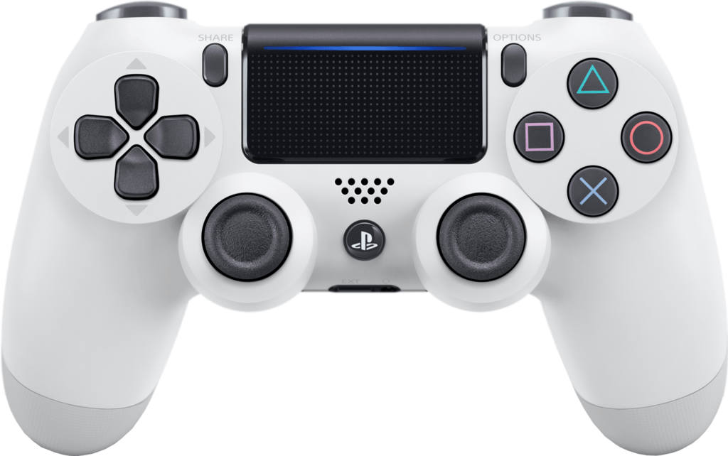 Boxart van Sony Wireless Dualshock PlayStation 4 Controller V2 (glacier white) (PS4), Sony Computer Entertainment
