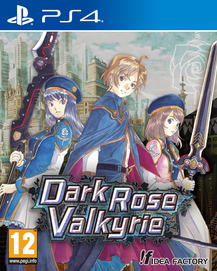 Boxart van Dark Rose Valkyrie (PS4), Compile Heart