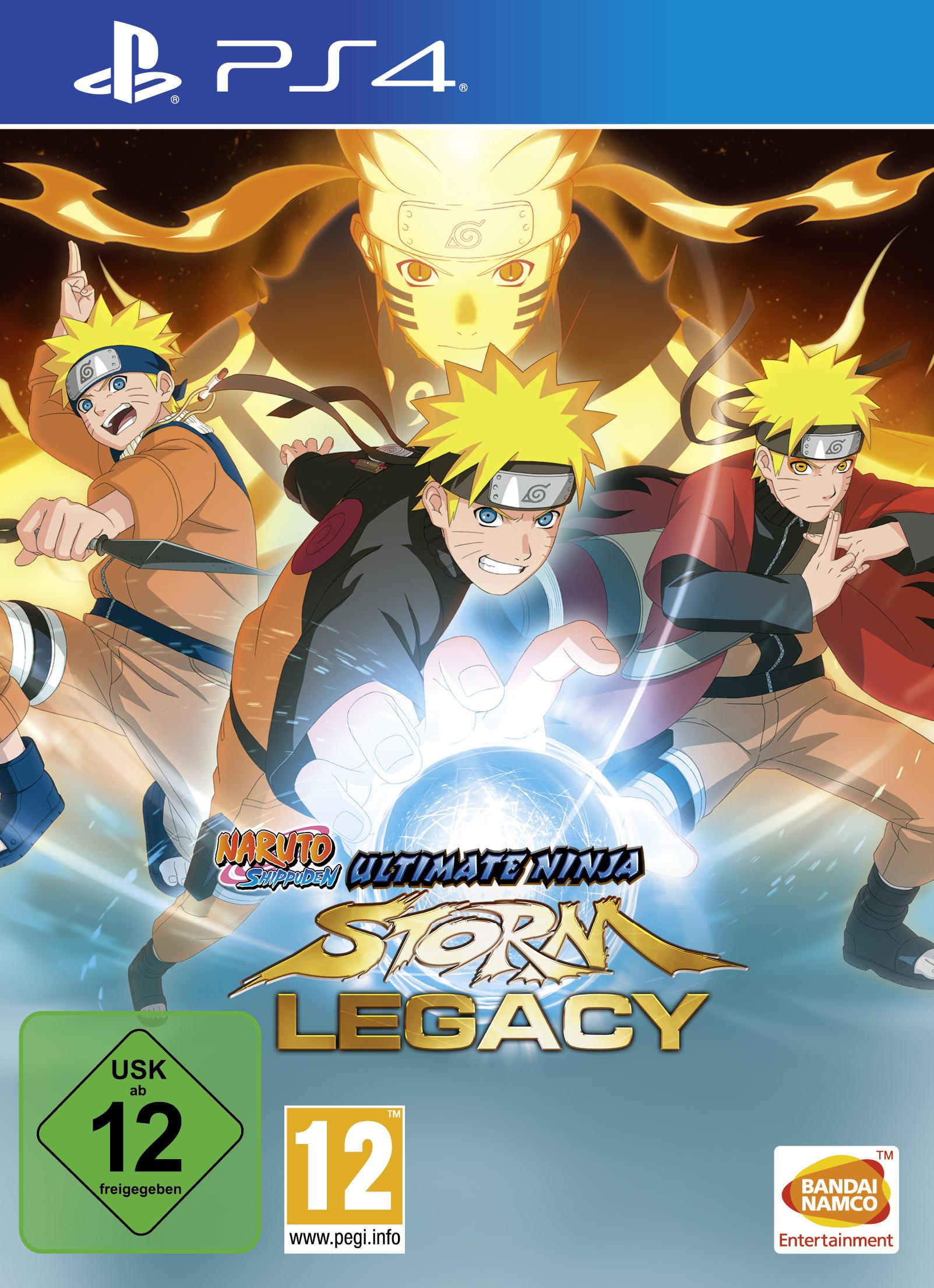 Boxart van Naruto Shippuden: Ultimate Ninja Storm Legacy (PS4), Bandai Namco