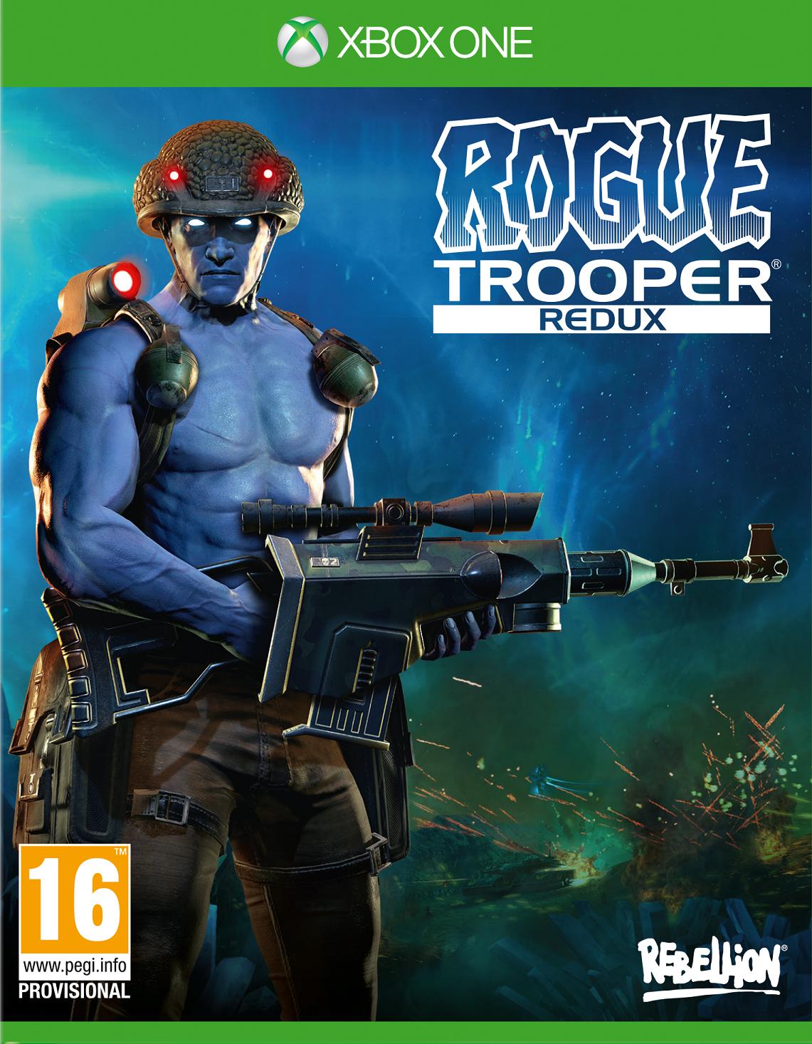 Boxart van Rogue Trooper: Redux (Xbox One), Rebellion