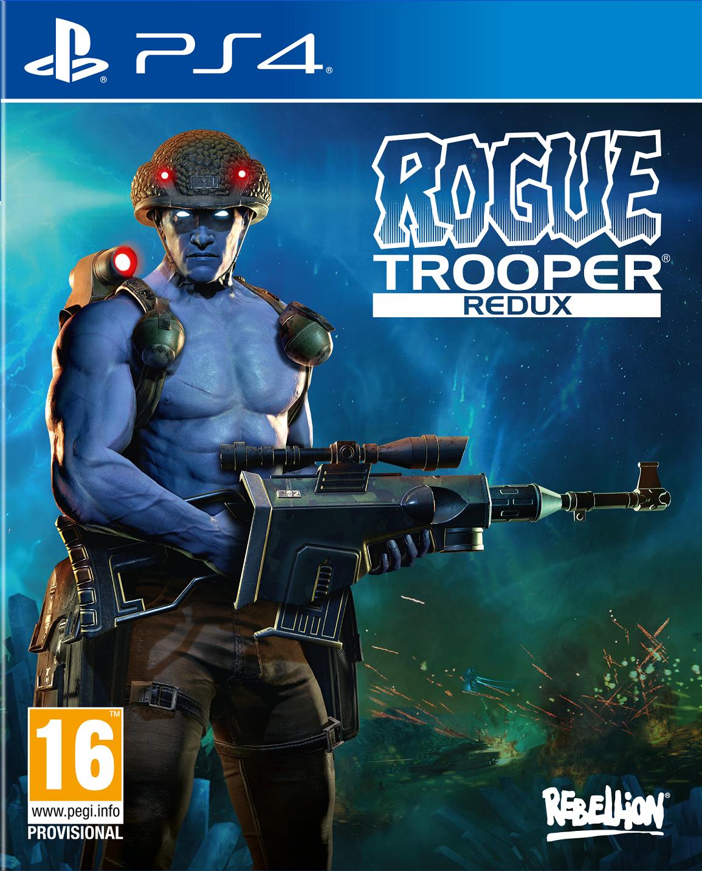 Boxart van Rogue Trooper: Redux (PS4), Rebellion