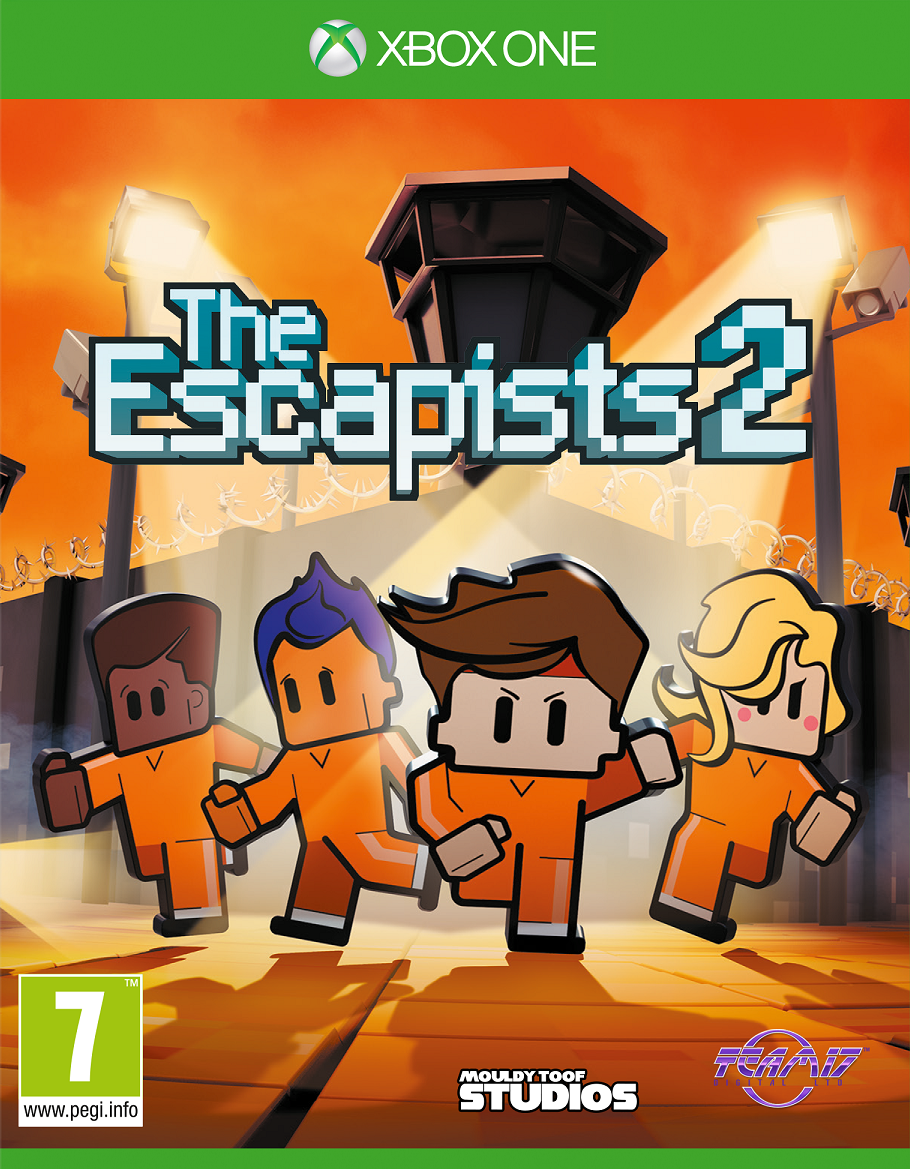 Boxart van The Escapists 2 (Xbox One), Mouldy Toof Studios