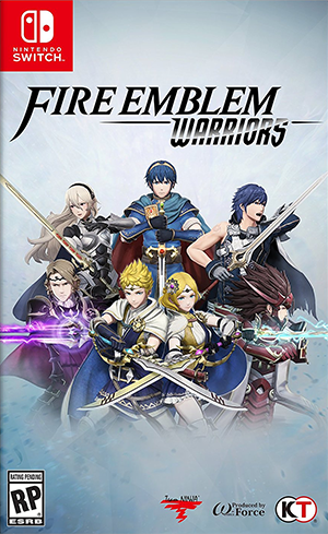 Boxart van Fire Emblem: Warriors (Switch), Omega Force, Team Ninja, Intelligent Systems
