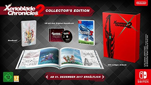 Boxart van Xenoblade Chronicles 2 - Collector's Edition (Switch), Monolith soft