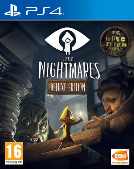 Boxart van Little Nightmares - Deluxe Edition (PS4), Tarsier Studios