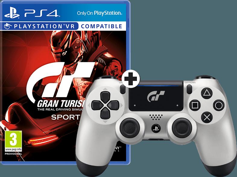 Boxart van Gran Turismo: Sport + DualShock 4 GT Edition Controller (PS4), Sony Entertainment