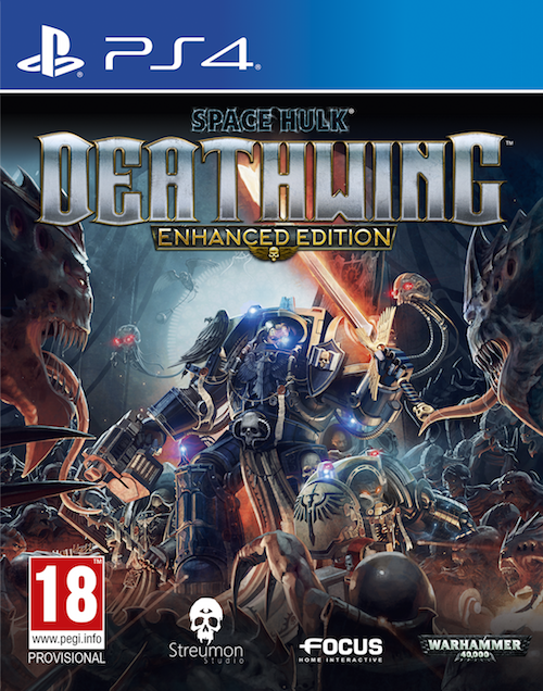 Boxart van Space Hulk: Deathwing - Enhanced Edition (PS4), Streumon Studio