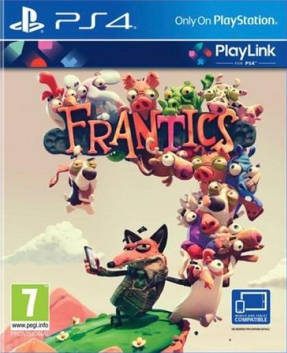 Boxart van Frantics (PlayLink) (PS4), NapNok Games