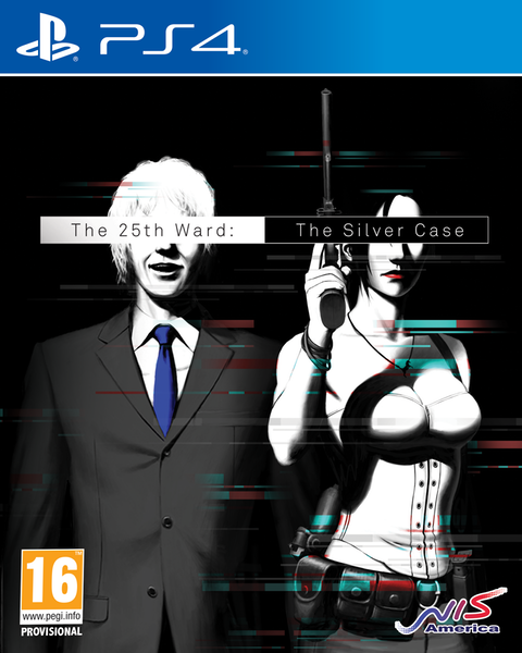 Boxart van The 25th Ward: The Silver Case (PS4), Grasshopper Manufacture