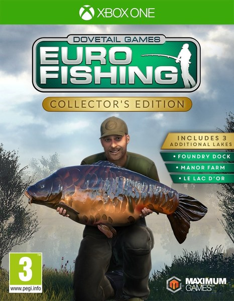 Boxart van Euro Fishing Collector's Edition (Xbox One), Dovetail Games