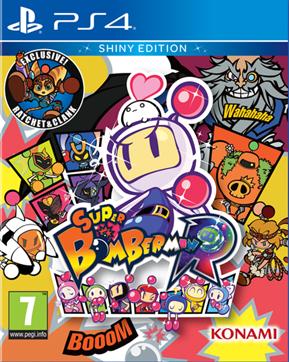 Boxart van Super Bomberman R: Shiny Edition (PS4), Konami, HexaDrive