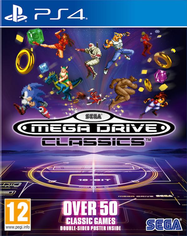 Boxart van SEGA Mega Drive Classics (PS4), SEGA