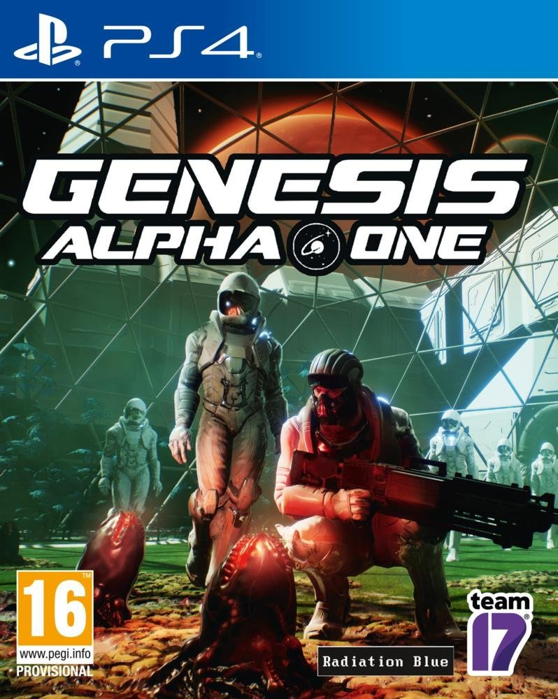 Boxart van Genesis: Alpha One (PS4), Radiation Blue