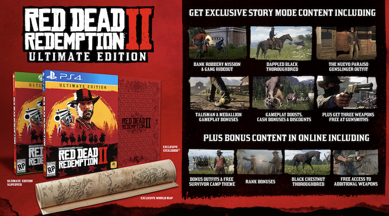 Red Dead Redemption 2 - Ultimate Edition (Xbox One), Rockstar Games