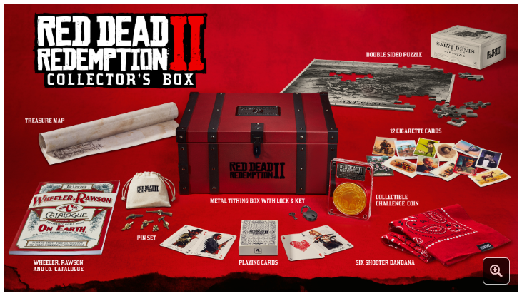 Boxart van Red Dead Redemption 2 - Collector's Box (PS4), Rockstar Games