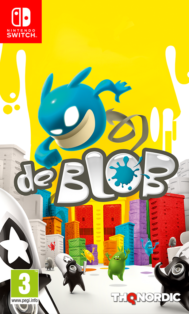 Boxart van De Blob (Switch), BlitWorks