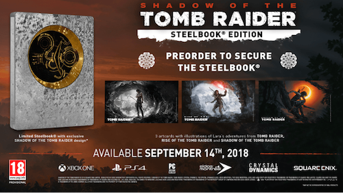 Shadow of the Tomb Raider: Steelbook Edition
