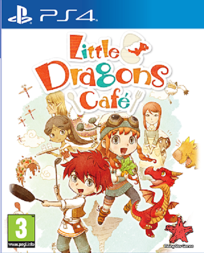 Boxart van Little Dragons Cafe (PS4), Rising Star Games