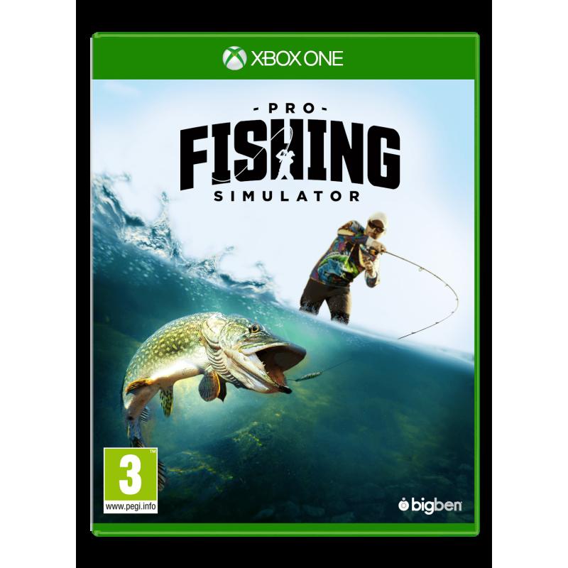 Boxart van Pro Fishing Simulator (Xbox One), Bigben Interactive