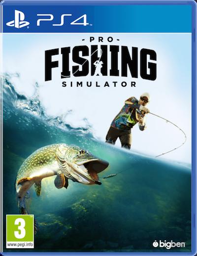 Boxart van Pro Fishing Simulator (PS4), Bigben Interactive