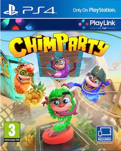 Boxart van Chimparty (PS4), 0711719768616