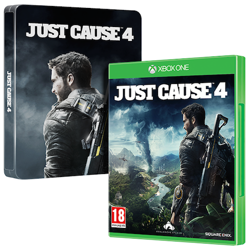 Boxart van Just Cause 4 - Steelbook Edition (Xbox One), Square Enix