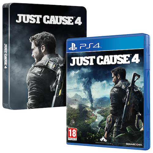 Boxart van Just Cause 4 - Steelbook Edition (PS4), Square Enix