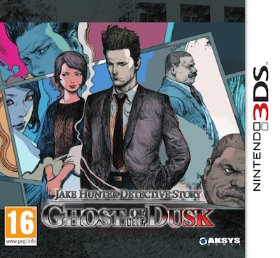Boxart van Jake Hunter Detective Story Ghost of the Dusk (3DS), Oaksys Games
