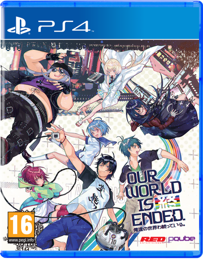 Boxart van Our World Is Ended - Day One Edition (PS4), PQube